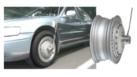 滑环型车轮扭矩测量车轮扭矩传感器LTW-NA 2.5kN•m
