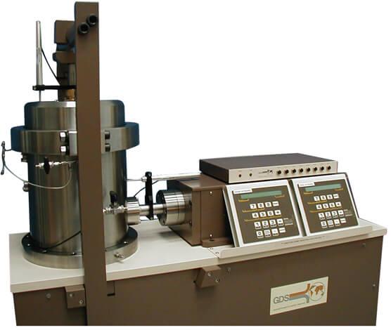 边坡失稳的直接控制和测量—GDS高压/反压饱和直剪仪