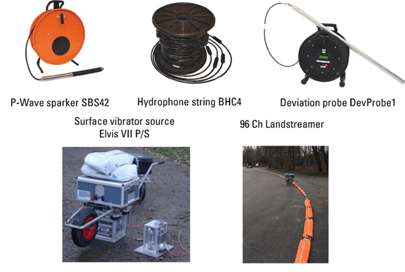 利用S波地震反射法和地震层析成像进行构造圈划