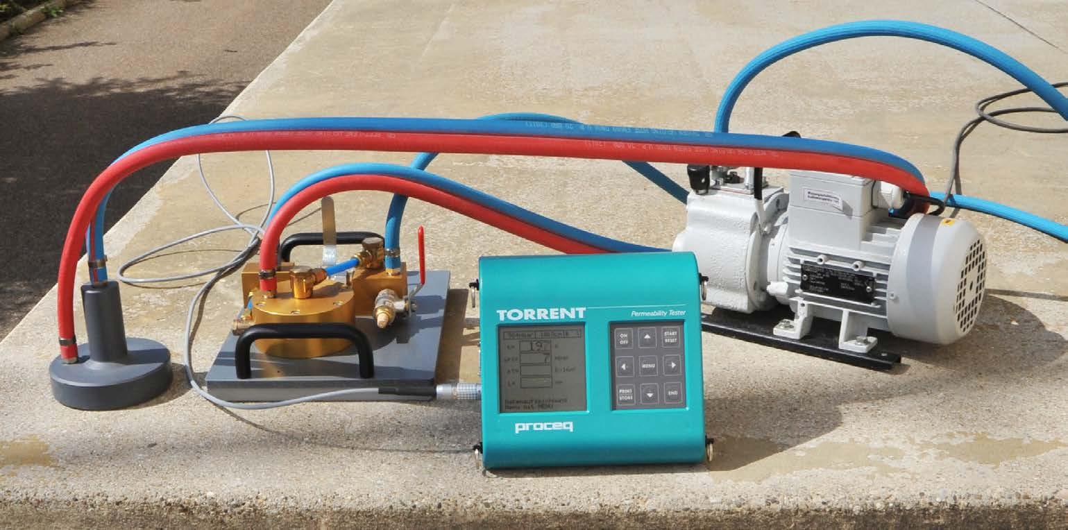 TORRENT混凝土渗透性测试仪