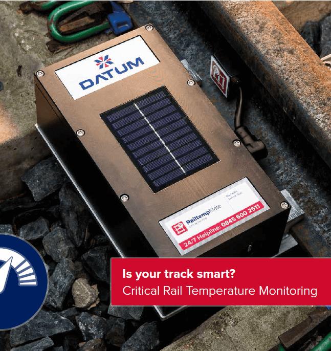 Datum--RailtempMate 创新的自动化关键轨道温度监测系统