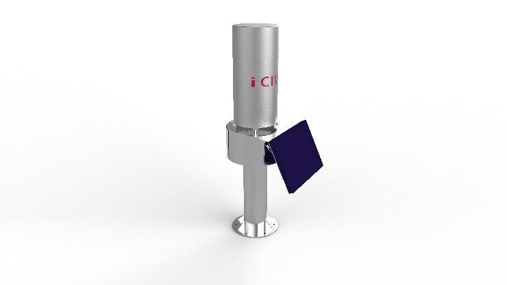iCIVIL-4005 一体化雨量计