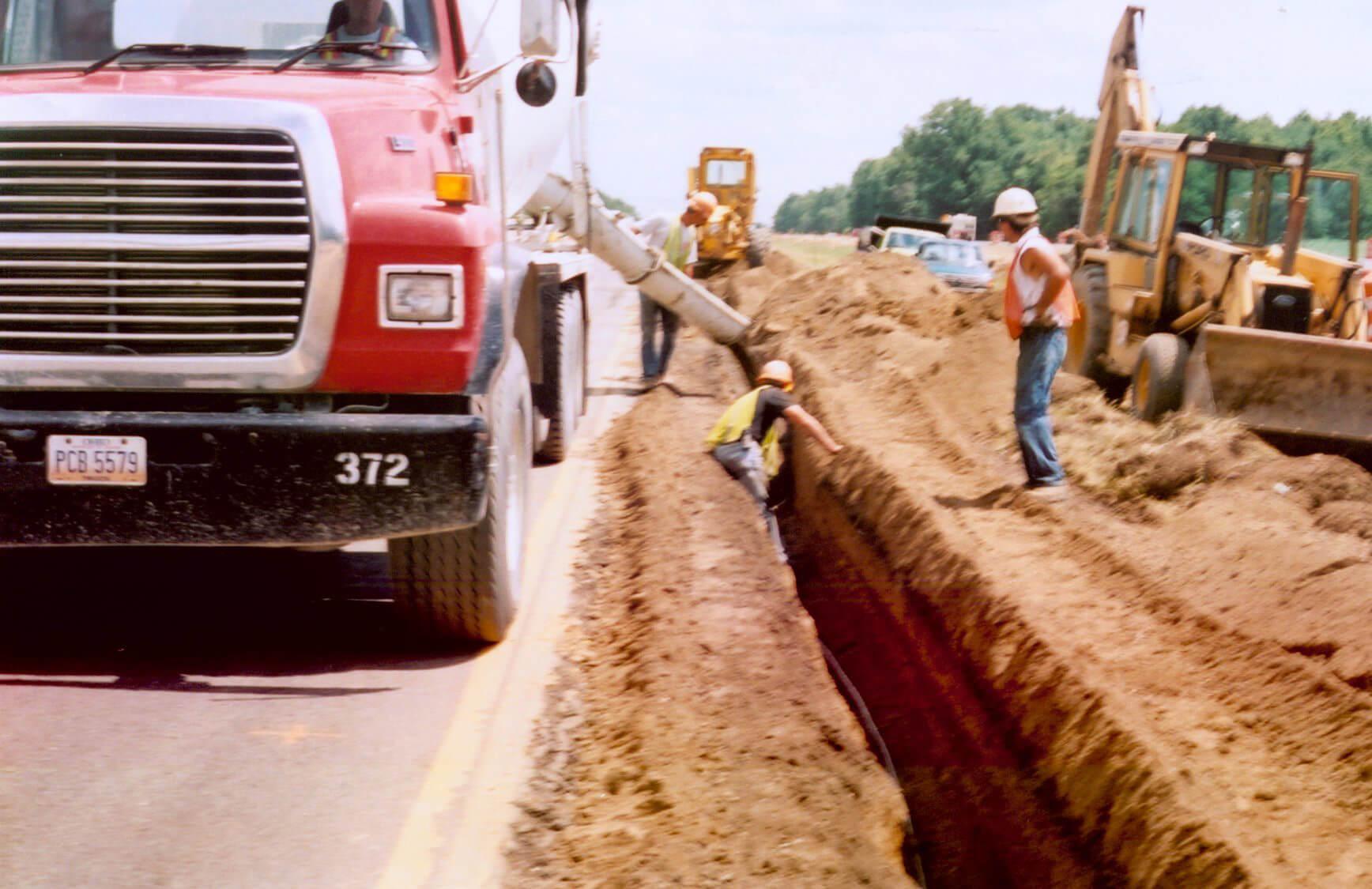 高速公路沉降监测:使用TDR系统监测道路修复过程中的危险地面变形