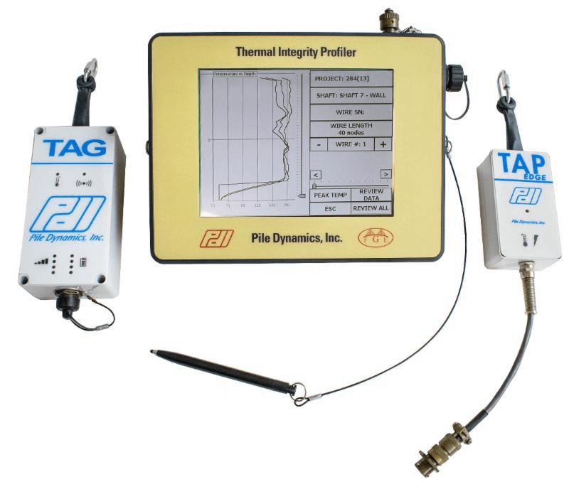 TIP热异常桩身完整性测试仪