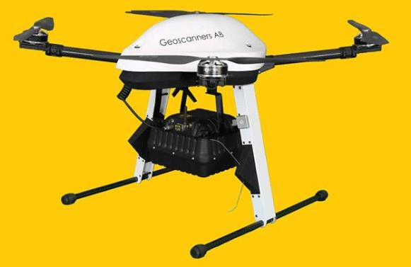 SPG-1700中高频无人机探地雷达