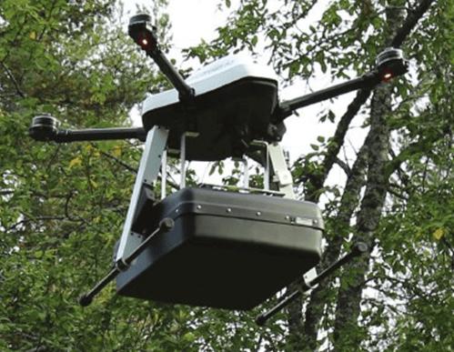 SPG-1800中频无人机探地雷达