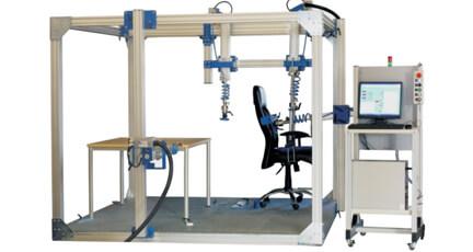 桌子水平垂直位移加载试验机