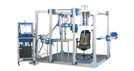 家具通用及冲击测试系统