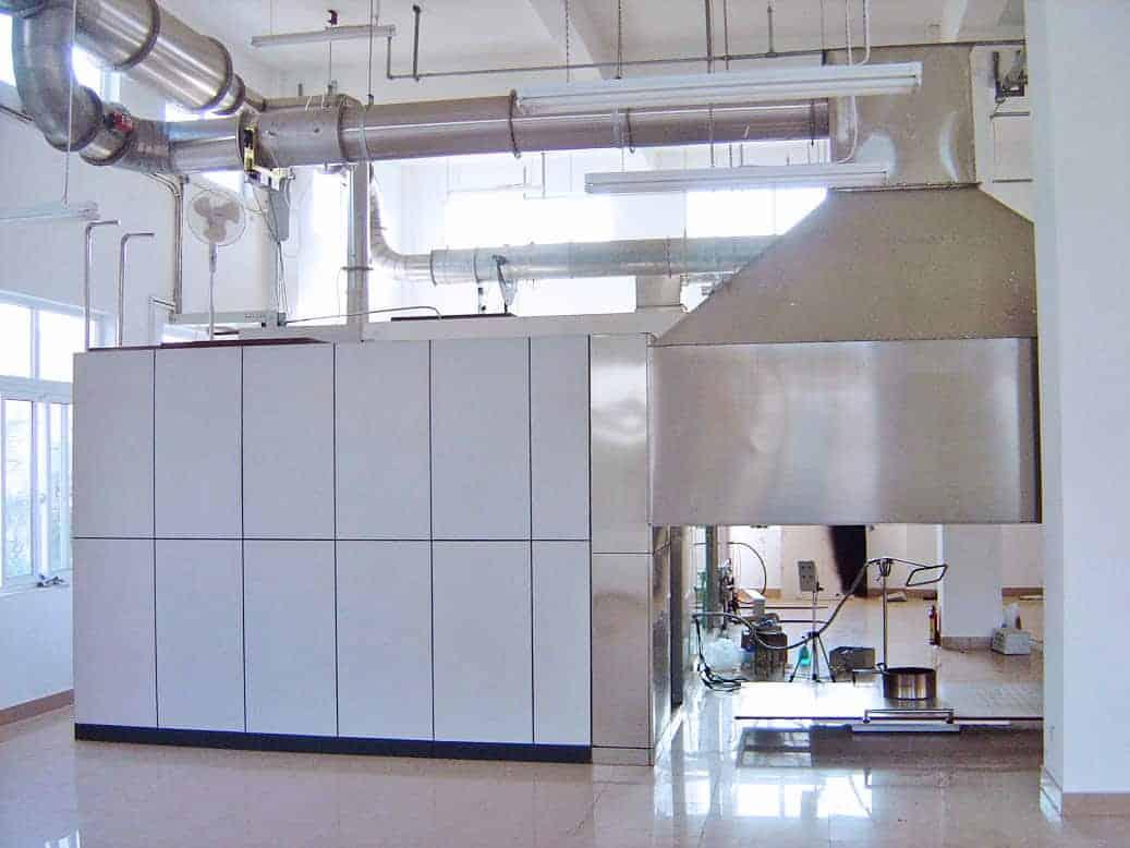 FTT - Large Scale Oxygen Consumption Calorimetry – Room Corner Test
