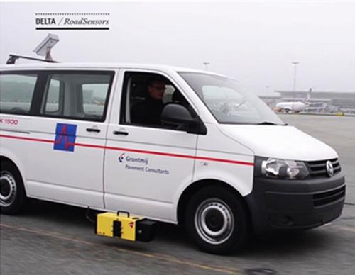 DELTA逆反射系数测量设备在机场的应用