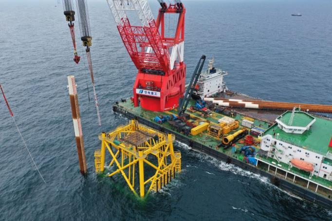 干货分享丨海上风电基础设施施工难点与解决