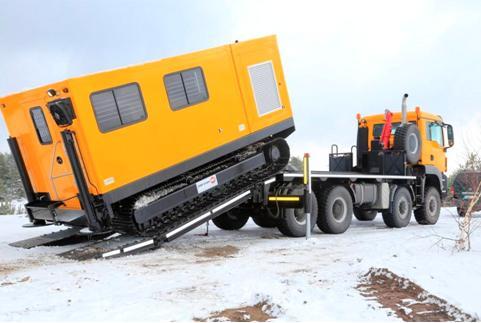 PT工作舱履带牵引装置和卡车组合PANTHER-150-FLEX-200