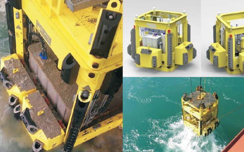 海床静力触探(CPT)系统 MANTA-100