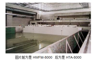 二连式平面造波浪装置及潮汐发电装置 HWFM-8000 HTA-8000