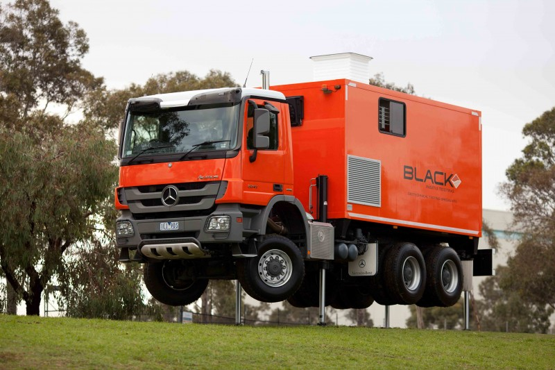 Geomil Grizzly-200 Truck mounted CPT