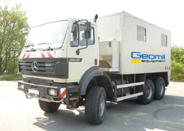 200kN CPT truck with operation experience