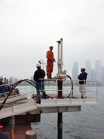 Geomil Shark-200 Nearshore CPT system