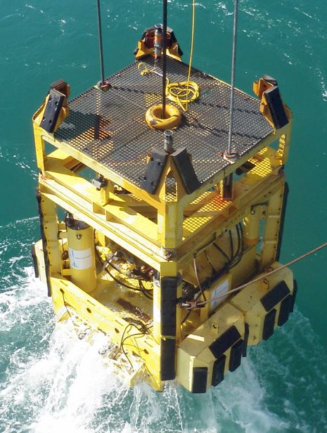 Geomil Manta-100 Seabed CPT system