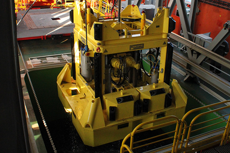 Geomil Manta-200 Seabed CPT system