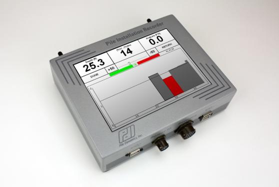 PDI - PIle Installation Recorder (PIR)