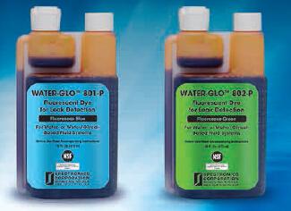 Water-GLO™ Fluorescent Leak Detection Dyes