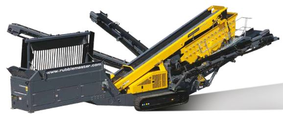 Rubble Master Tracked Coarse Material Screening Plants