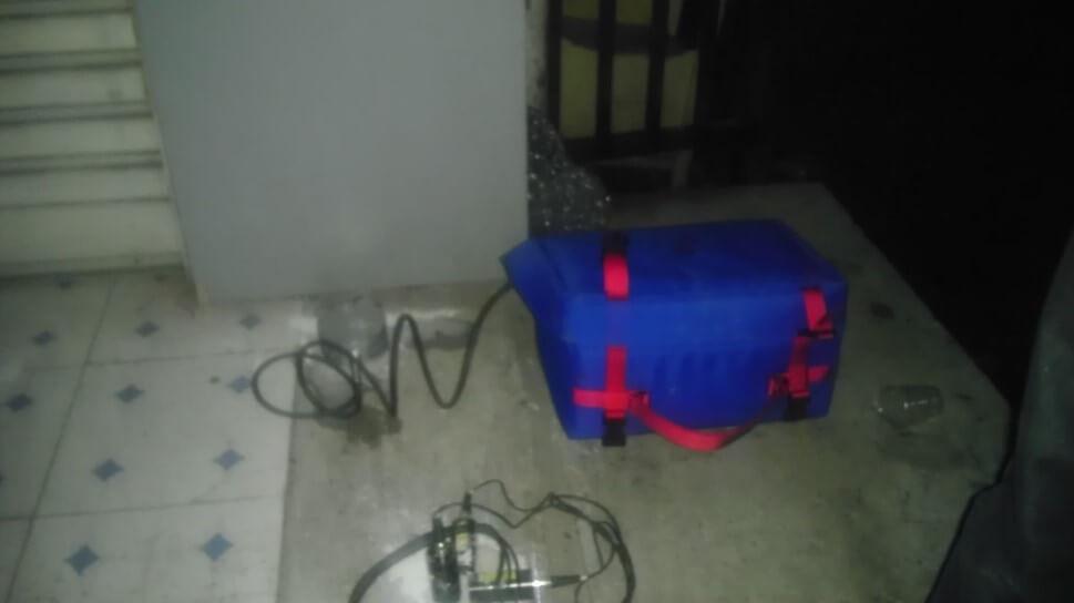 Instantel振动监测仪用于武汉某楼爆破施工监测