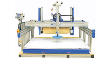 床垫和坐垫框架耐久性和硬度测试组合试验机