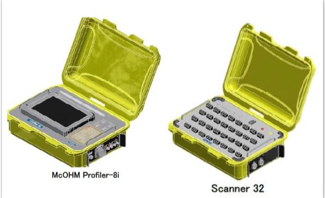 McOHM Profiler-8i高密度电法仪及相关附属配置