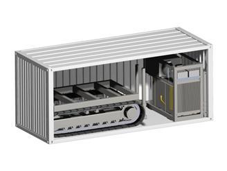 集装箱式履带CPT系统 COUGAR-200