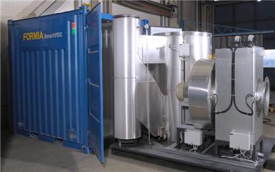 一体式智能有机废气焚化器系统